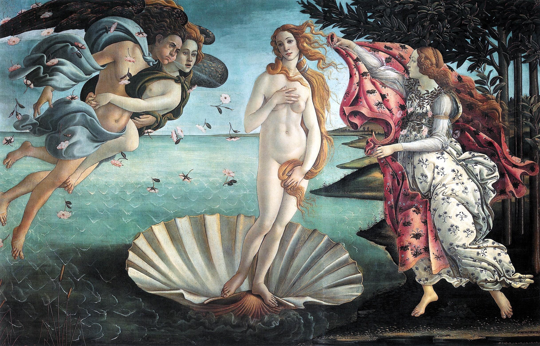 Birth_of_Venus_Botticelli art preservation